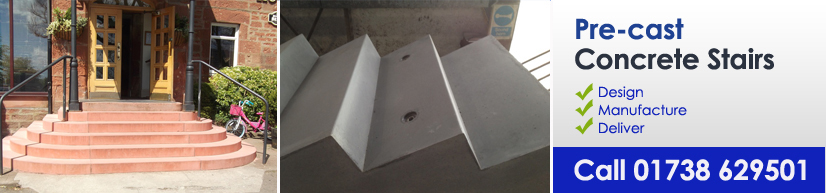 PRE-CAST CONCRETE STAIRS