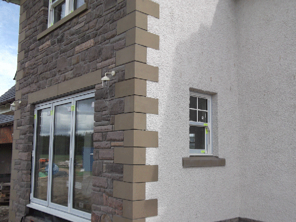 quoins sills and lintels