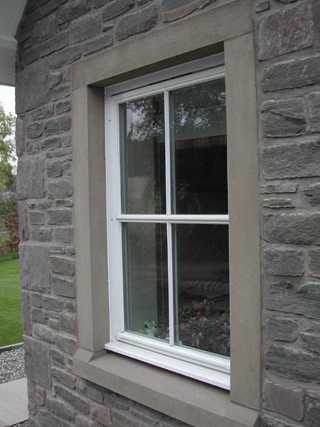 Precast Concrete Windows : Cast stone architectural masonry coloured concrete